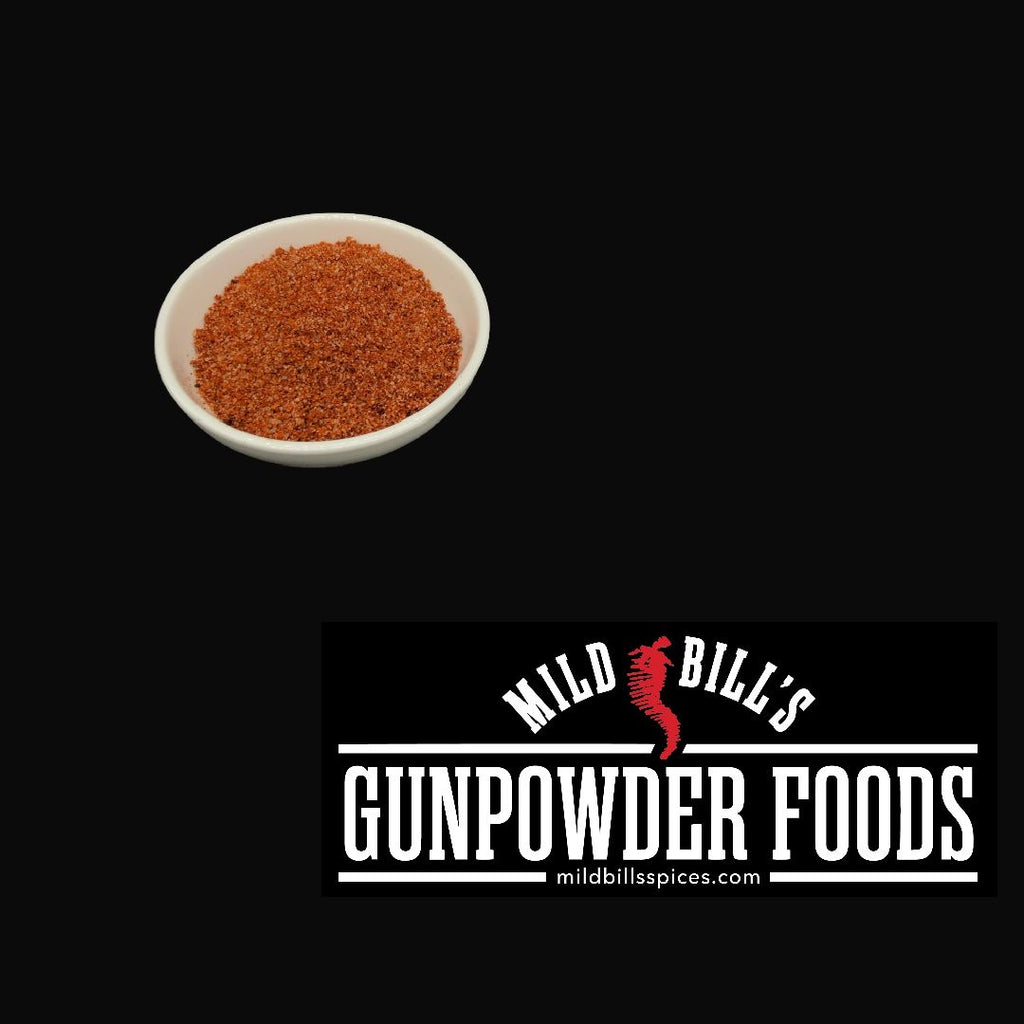 Gunpowder Foods BBQ Rub (Mild Bill's BBQ Rub)