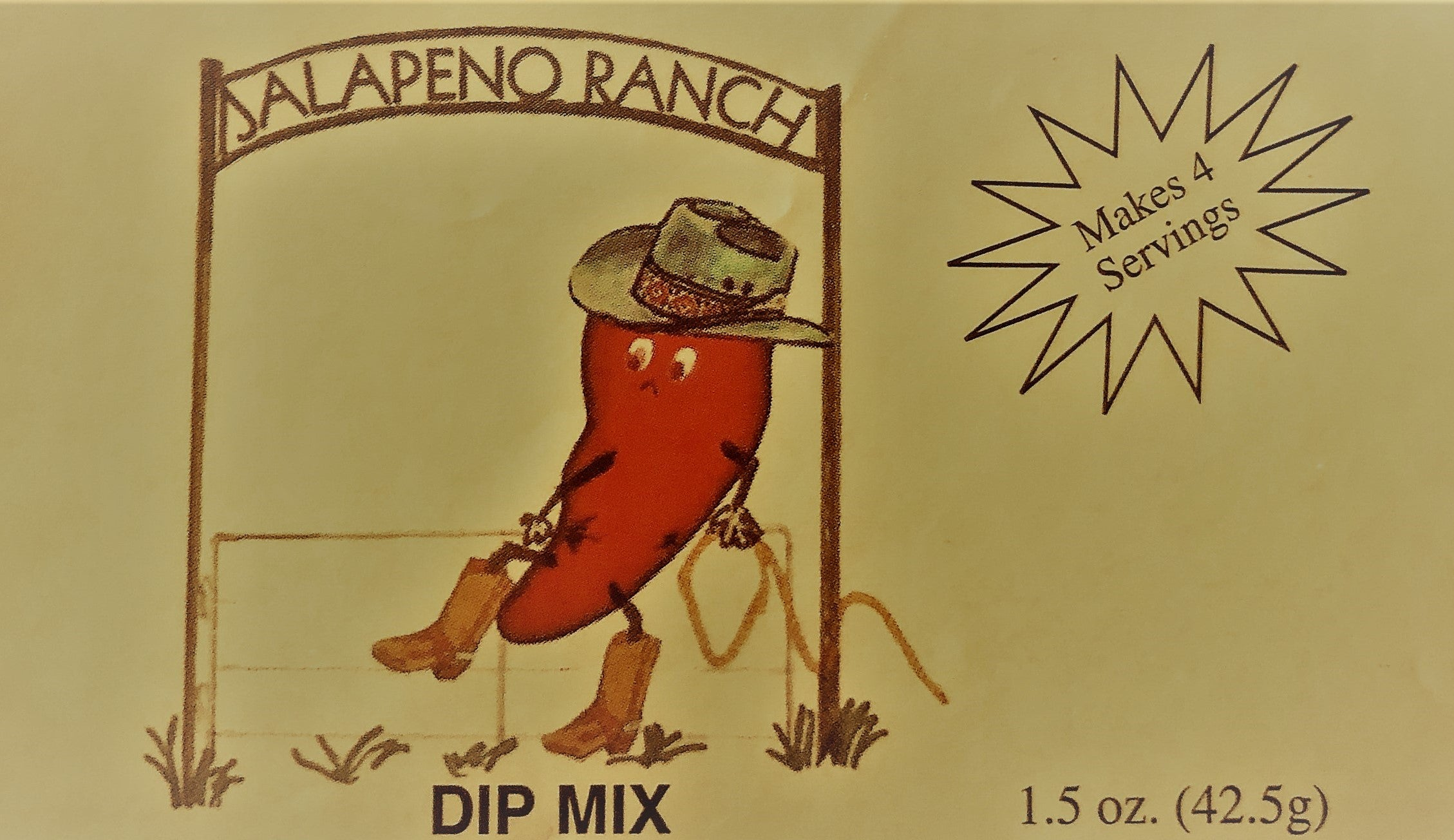 Jalapeno Ranch Dip Mix