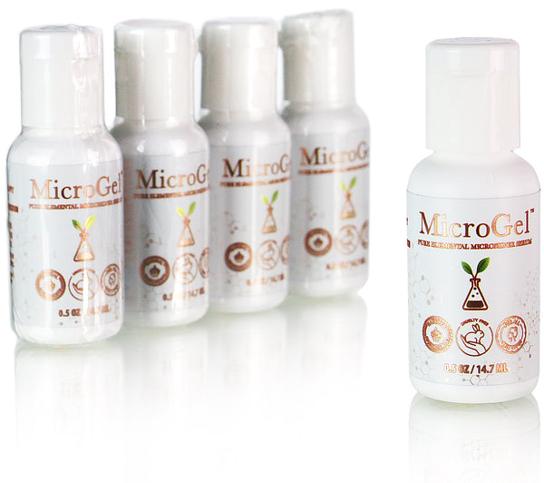 (5 Pack) MicroGel Minis (1/2oz each) - Membrane Post Care Products Inc.