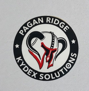 Pagan Ridge Kydex Solutions - Decal 3 inch