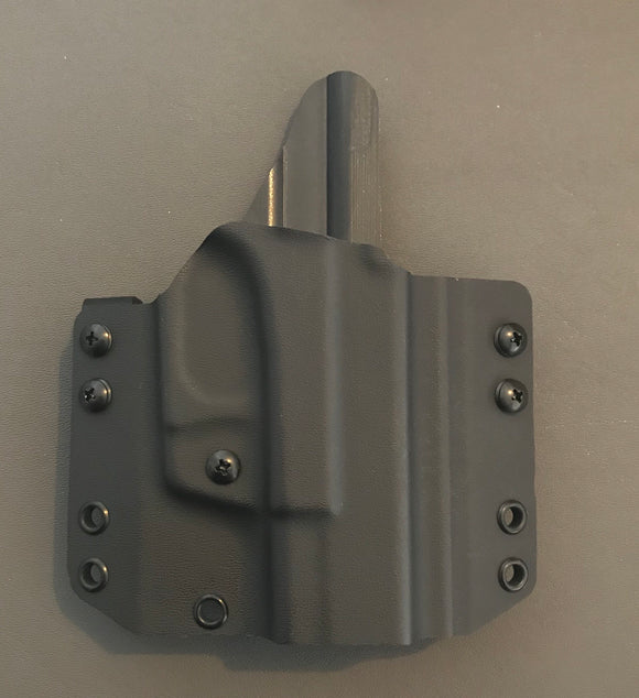 Glock MultiFit OWB Holsters for 9mm, 40cal, and 357 Double-Stack Glock, 17/22 Length