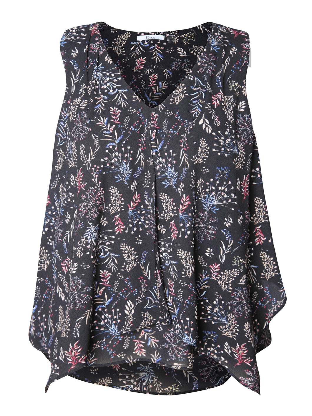 Dex Plus Sleeveless Blouse