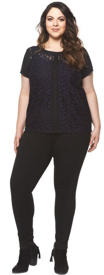 Dex Plus Lace Top