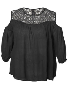 Dex Plus Cold Shoulder Top