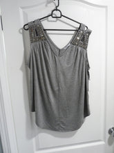 Dex Plus Sleeveless Embellished Top