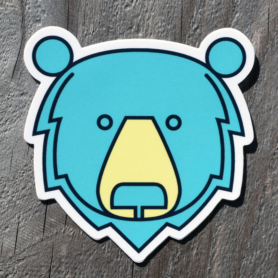 STICKER - BEAR