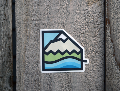 STICKER - MOUNTAIN