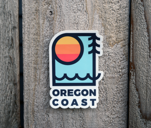 STICKER - OREGON COAST