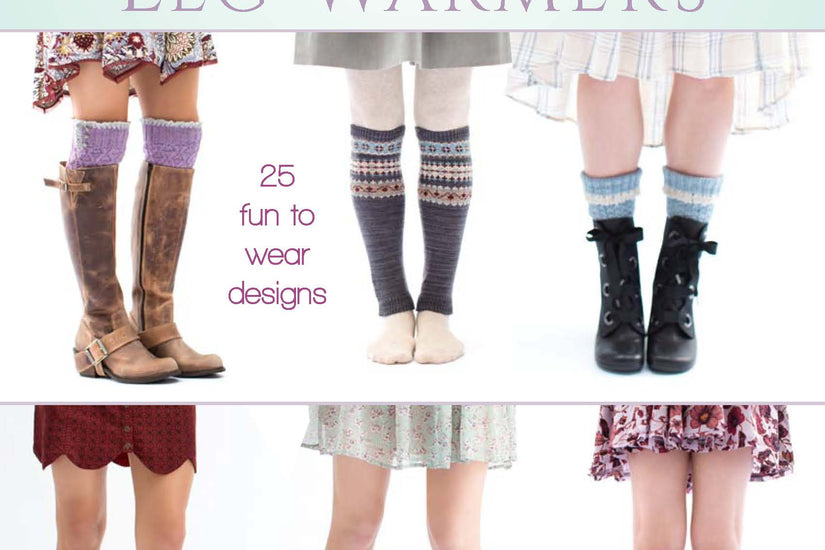 New Book Release!  D-T-I Knitted Boot Cuffs & Leg Warmers