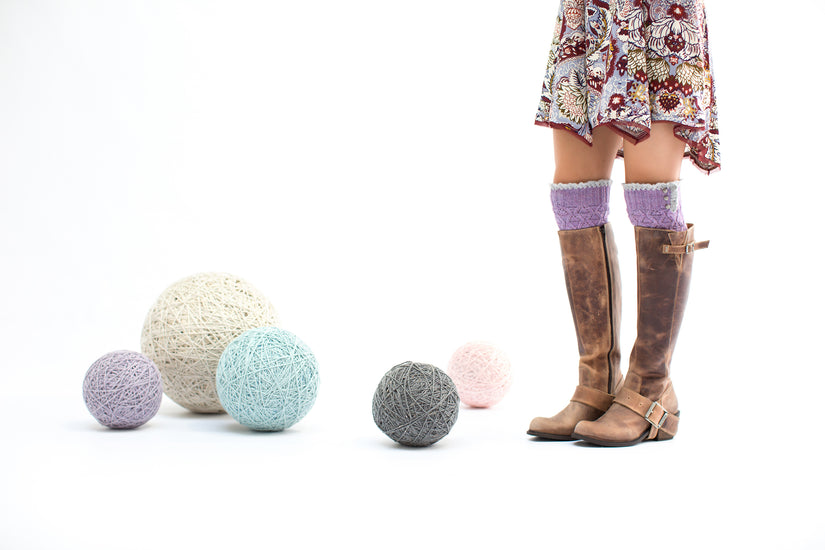 Lace & Button Boot Liners