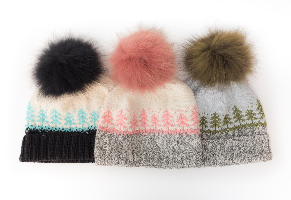 Central Park Hat & Slouchy Beanie Kits