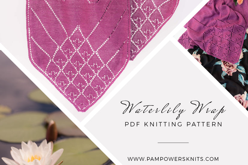 New Pattern Waterlily Wrap