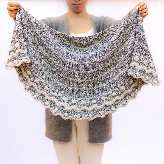 Have you seen the new Wolfie Shawl Kit?
