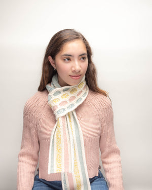Hexie Scarf Knitting Kit