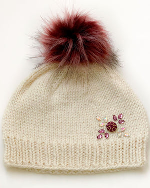A. Opie Designs - Fa-La-La Hat Knitting Kit