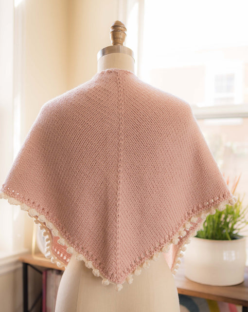 Gumdrop Shawl (Small) Knitting Kit
