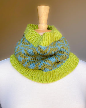 A. Opie Designs - Greenville Cowl Knitting Kit