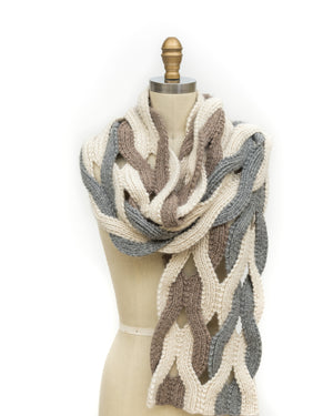JAPANESE WEAVE WRAP PAM POWERS KNITS