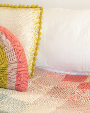 Bobbly Pillow Knitting Kit PRESALE