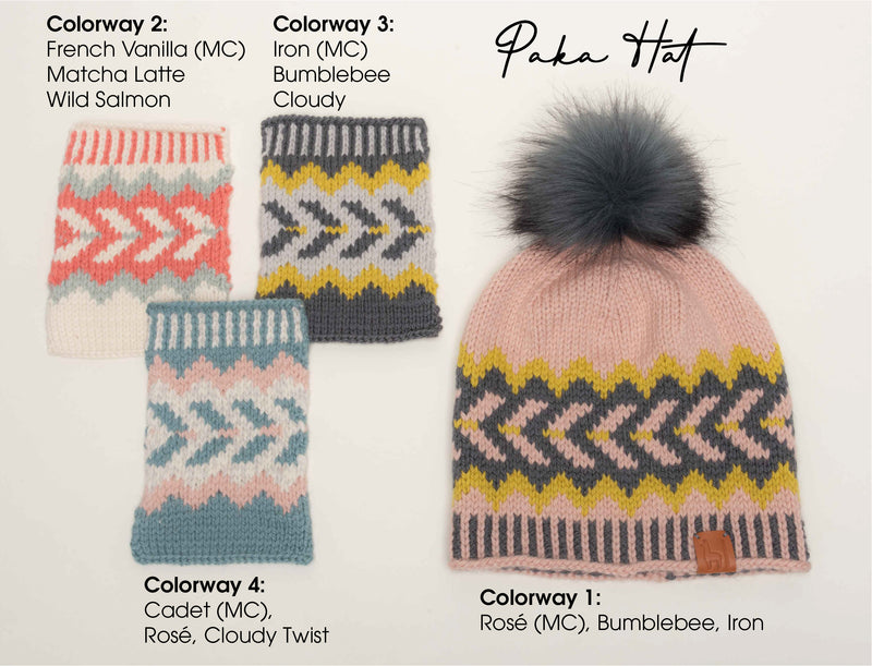 Paka Hat Knitting Kit