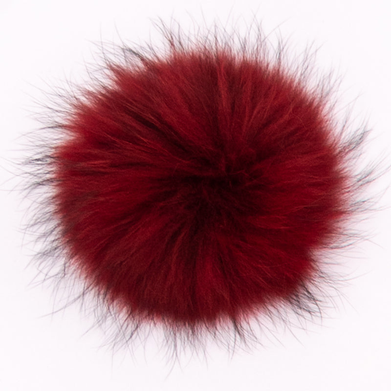 Pom-Poms - XL Raccoon Fur