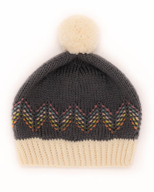 Sashiko Hat Knitting Kit