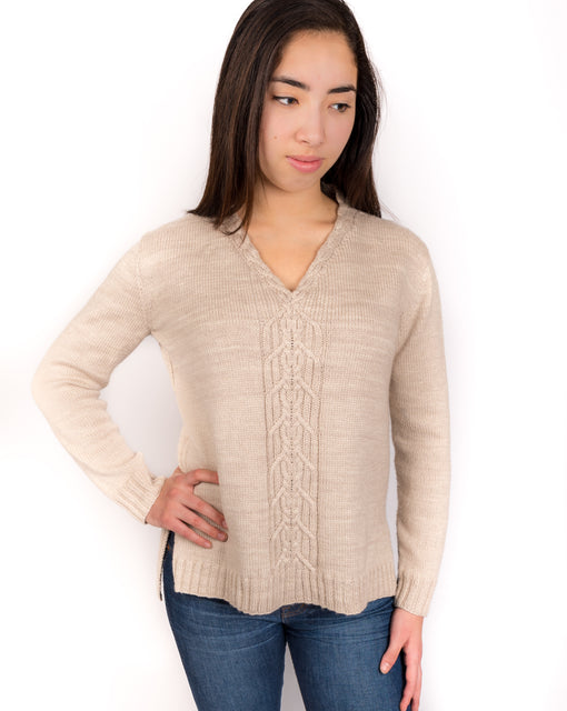 Traveler Tunic PDF Knitting Pattern