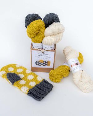Twister Mitten Knitting Kit