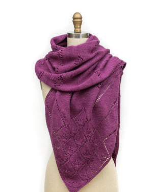 WATERLILY WRAP PAM POWERS KNITS