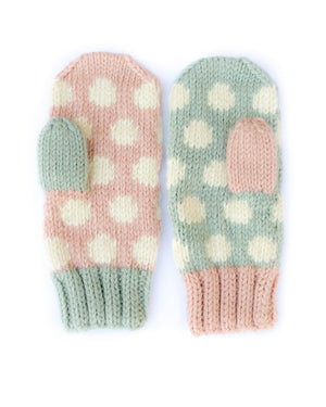 "Twister ""Mix"" Mitten Knitting Kit"