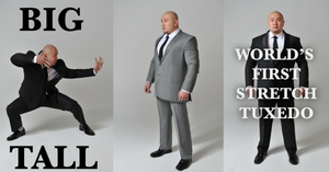 Big And Tall Stretch Suits Tested By Scientist Martial Artist!