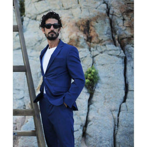 Blue Stretch Suit - The Stretch Suit