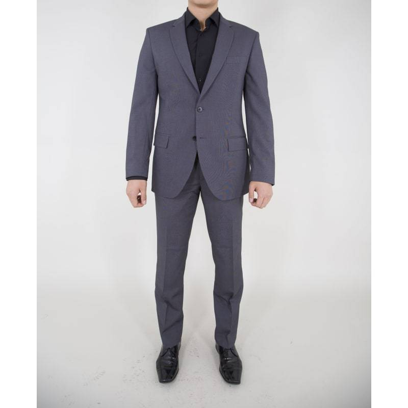 Charcoal Grey Water Repel Performance Suit-The Stretch Suit-The Stretch Suit