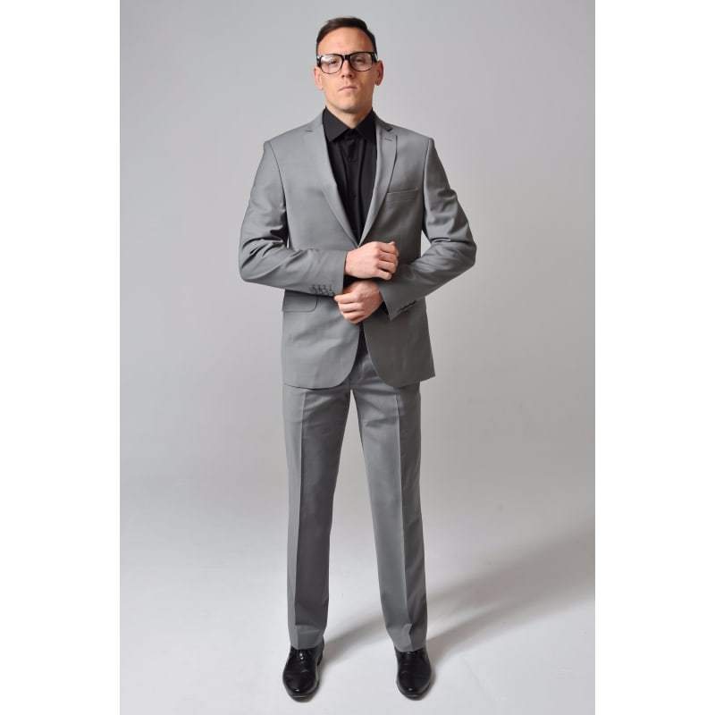 Grey Stretch Suit - The Stretch Suit
