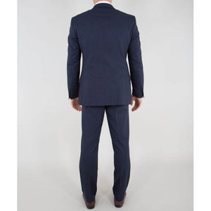 Navy Water Repel Performance Suit - The Stretch Suit