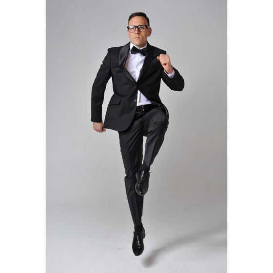 Tuxedo Stretch Suit - The Stretch Suit