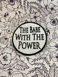 Babe With The Power Labyrinth Patch Sew On Patch