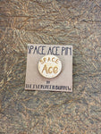 LGBTQ+ Wooden Pin- Space Ace