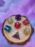 Mixed Jolly Rancher Handcrafted Dice Set