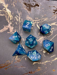 Arctic Wisp Handcrafted Dice Set