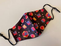 Dice Pattern Mask With Filter Pocket