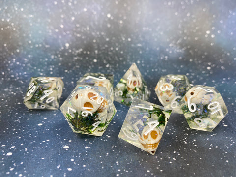 Grave Cleric Handcrafted Dice Set