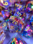 Rainbow Rollers Handcrafted Dice Set