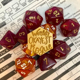 D&D Pin World's Okayest Rogue Pin
