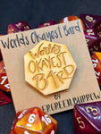 D&D Pin World's Okayest Bard Pin