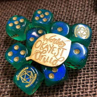 World's Okayest Druid Tabletop Class Wooden Pin