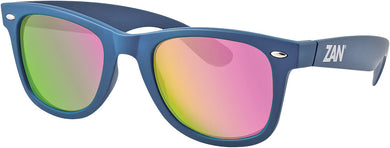 Throwback Winna Sunglasses Steel Blue W/Smoke Purple
