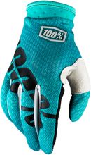 GLOVE ITRACK YTH TEAL