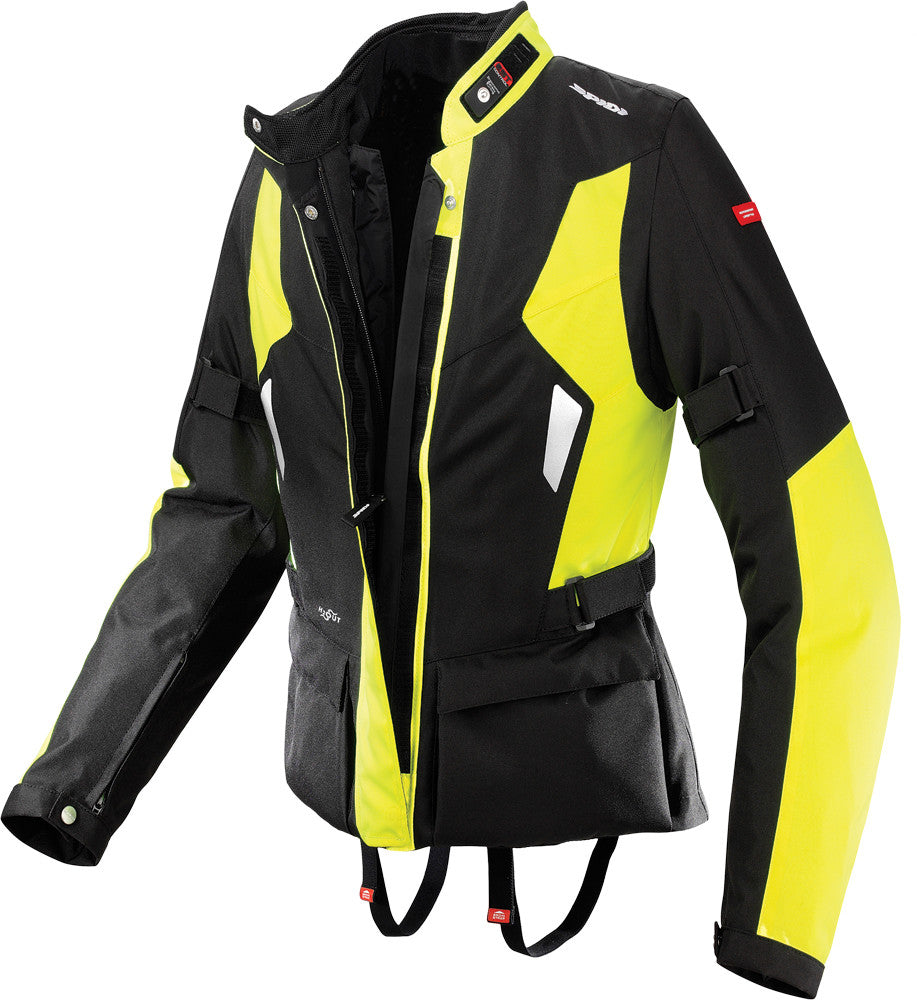 VOYAGER LADIES H2OUT JACKET HI-VIZ YELLOW X