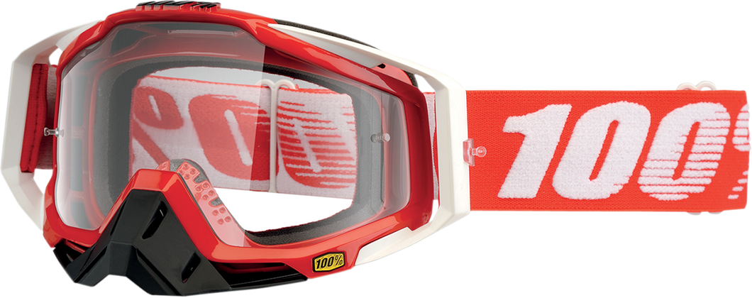 GOGGLE RC FIRE RED CL